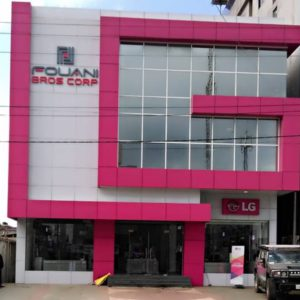LG Showroom in Liberia