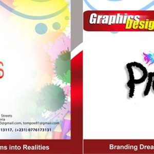 professional graphics design company in liberia