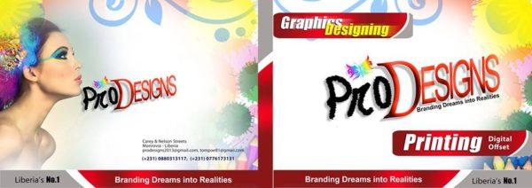 professional graphics design company in liberia