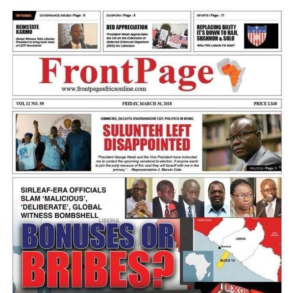 FrontPage Africa