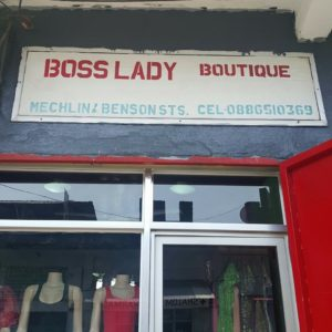 Bosslady boutique.