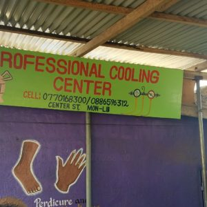 Professional Cooling Center in Liberia