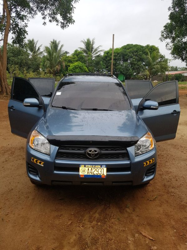 Car- Toyota for rent in Liberia