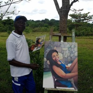 Art and Crafter in Liberia