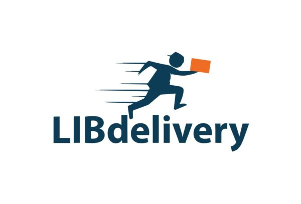 LIBdelivery Logo Delivery Shipping Service Liberia